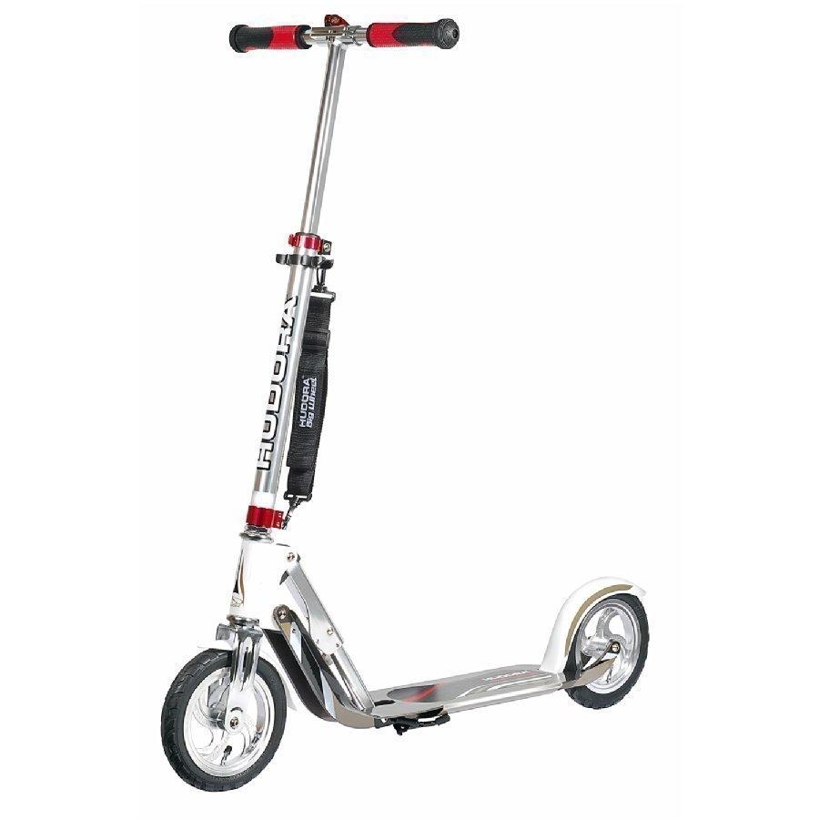 Hudora Potkulauta Big Wheel Air 205 Hopea / Valkoinen 14005