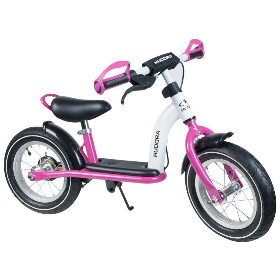 Hudora Potkupyörä Cruiser Girl 12 Alumiini Valkoinen / Pinkki