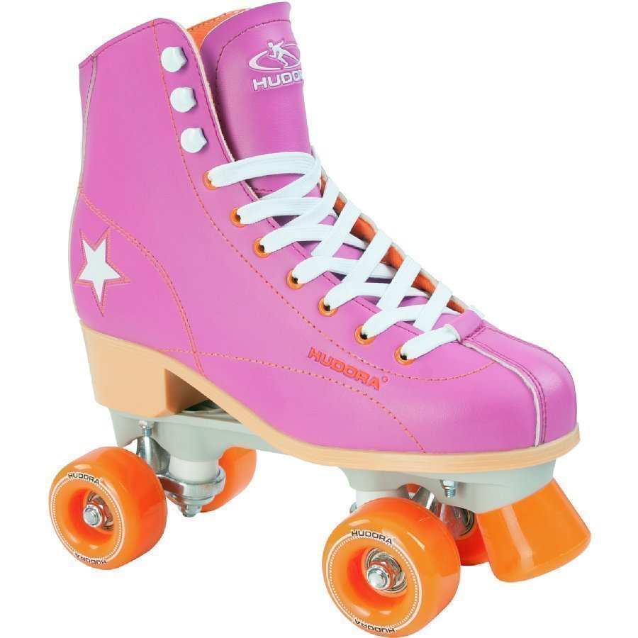 Hudora Rullaluistimet Roller Disco Liila / Oranssi 38 13174