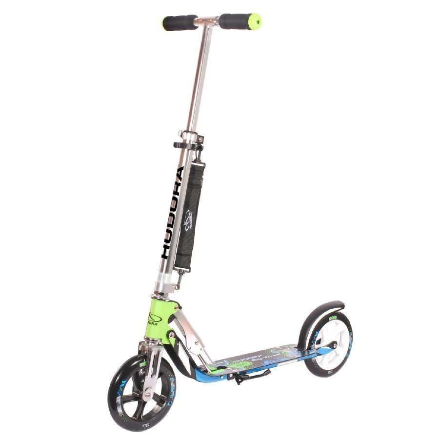 Hudora Scooter Big Wheel 205 Potkulauta Sininen / Vihreä