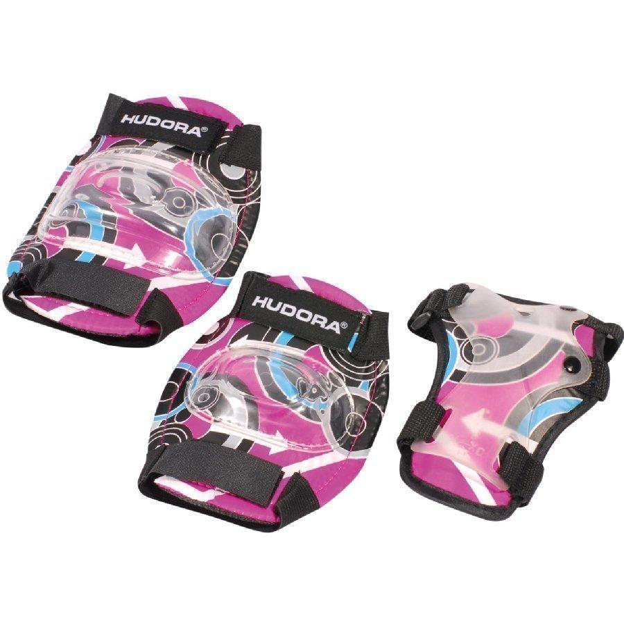 Hudora Suojavarustesetti Pink Style M 83344