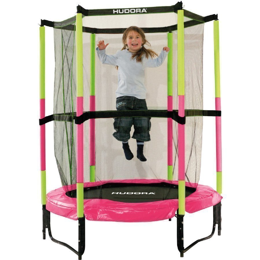 Hudora Trampoliini Jump In 140 Pinkki 65609