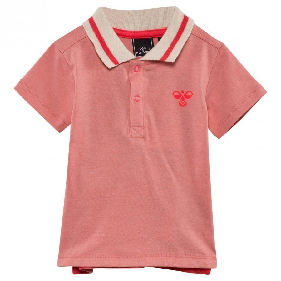 Hummel Cim Polo Strawberry Ice Pikeepaita