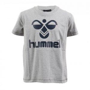 Hummel Classic Bee Cotton Tee Urheilullinen T-paita Harmaa