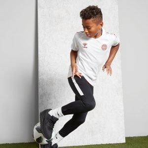 Hummel Denmark 2018/19 Away Shirt Valkoinen