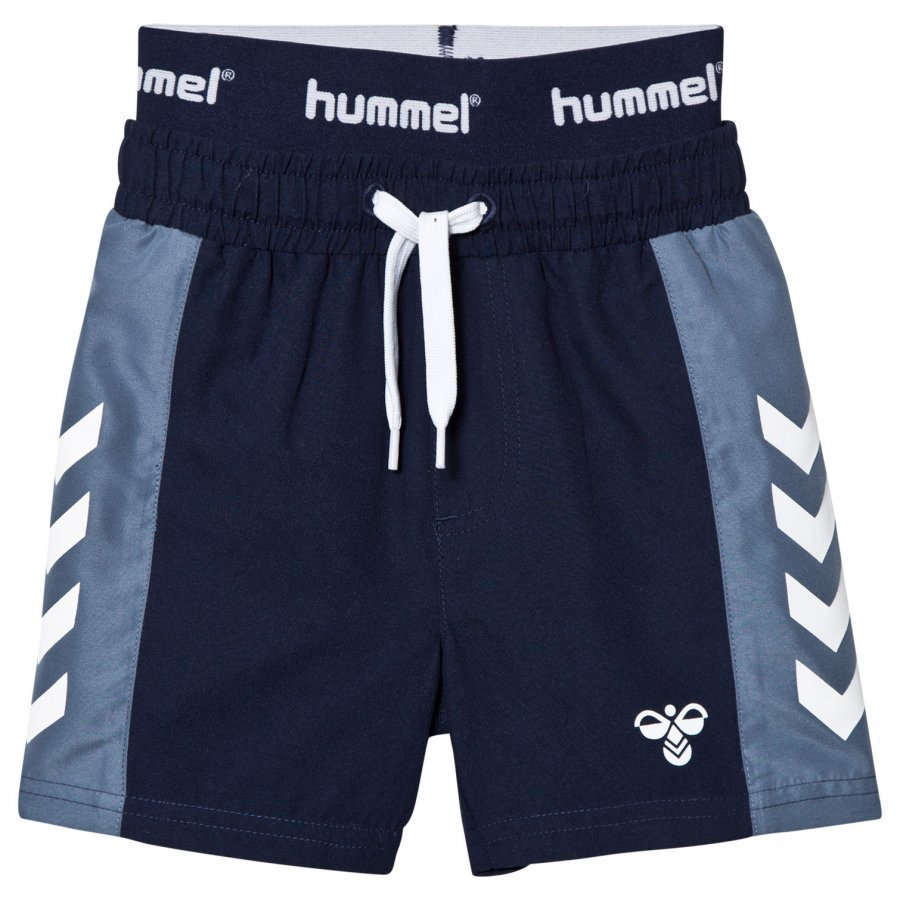 Hummel Folke Shorts Black Iris Uimahousut