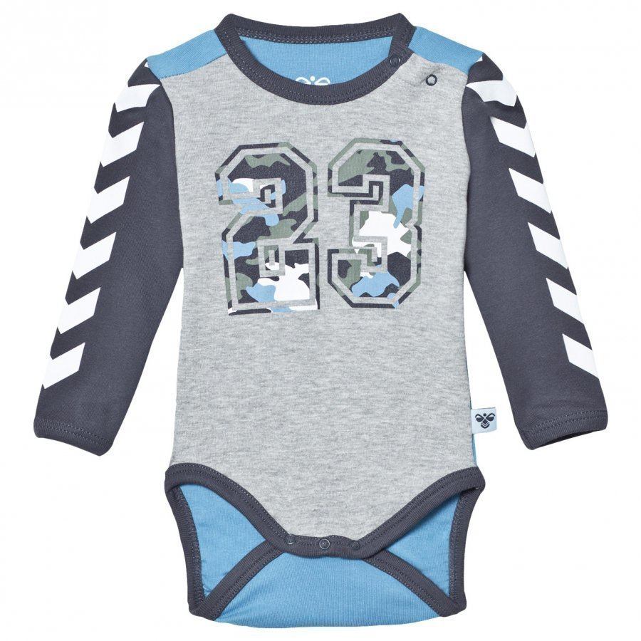 Hummel Fred Baby Body Grey Melange Body