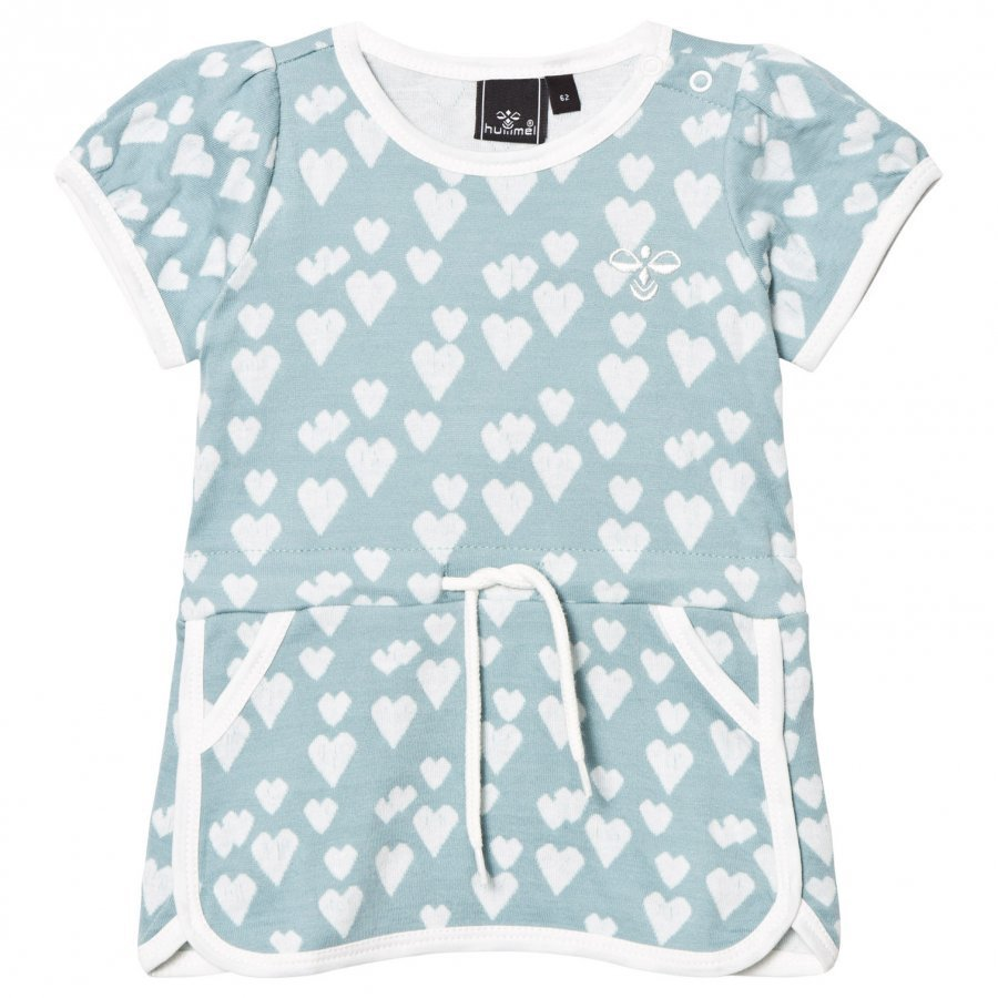 Hummel Heart Dress Stone Blue Mekko
