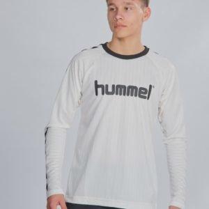 Hummel Hmlclark T Shirt L/S T-Paita Valkoinen