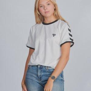 Hummel Hmlclark T Shirt S/S T-Paita Valkoinen