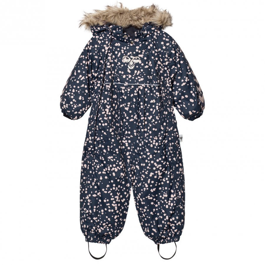 Hummel Moon Snowsuit Aw17 Multi Colour Girls Toppahaalari