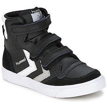 Hummel STADIL JR VELCRO HIGH korkeavartiset kengät