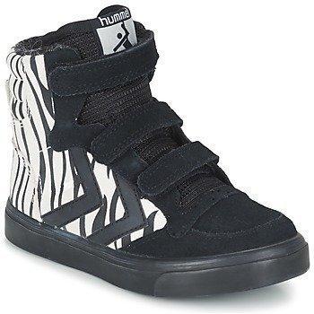 Hummel STADIL ZEBRA JR korkeavartiset kengät