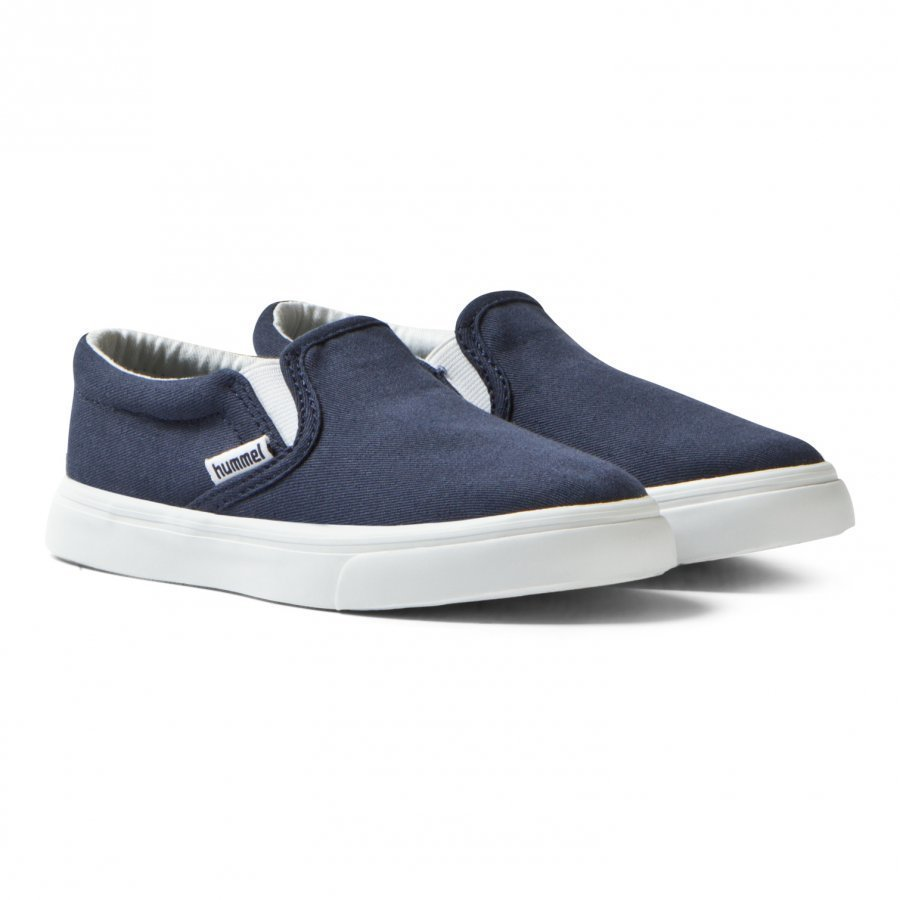 Hummel Slip-On Jr Total Eclipse Kangaskengät