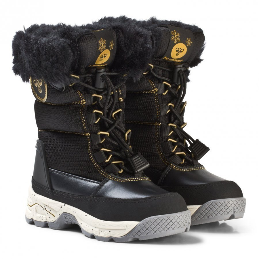 Hummel Snow Boot Jr Black Talvisaappaat