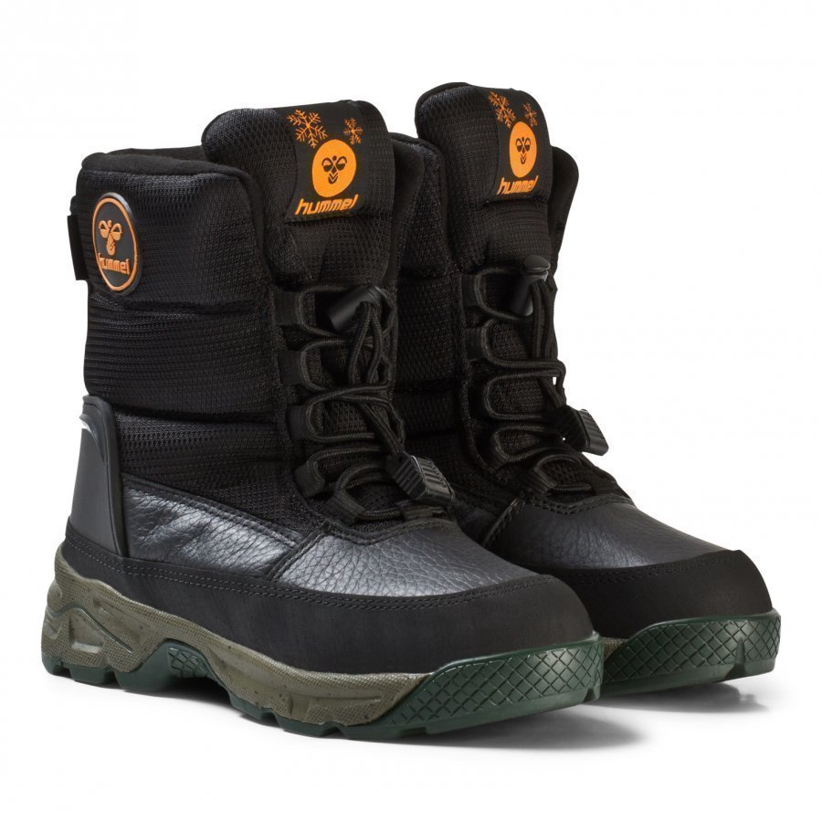 Hummel Snow Boot Low Jr Black Talvisaappaat