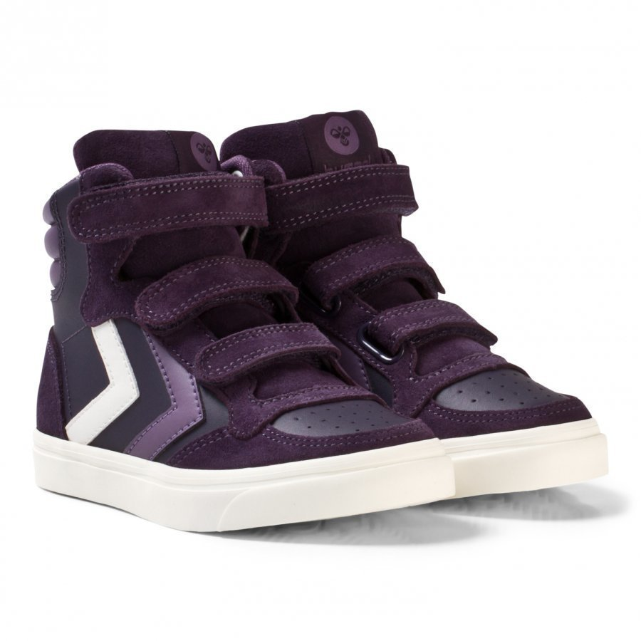 Hummel Stadil Leather Jr Nightshade Korkeavartiset Kengät