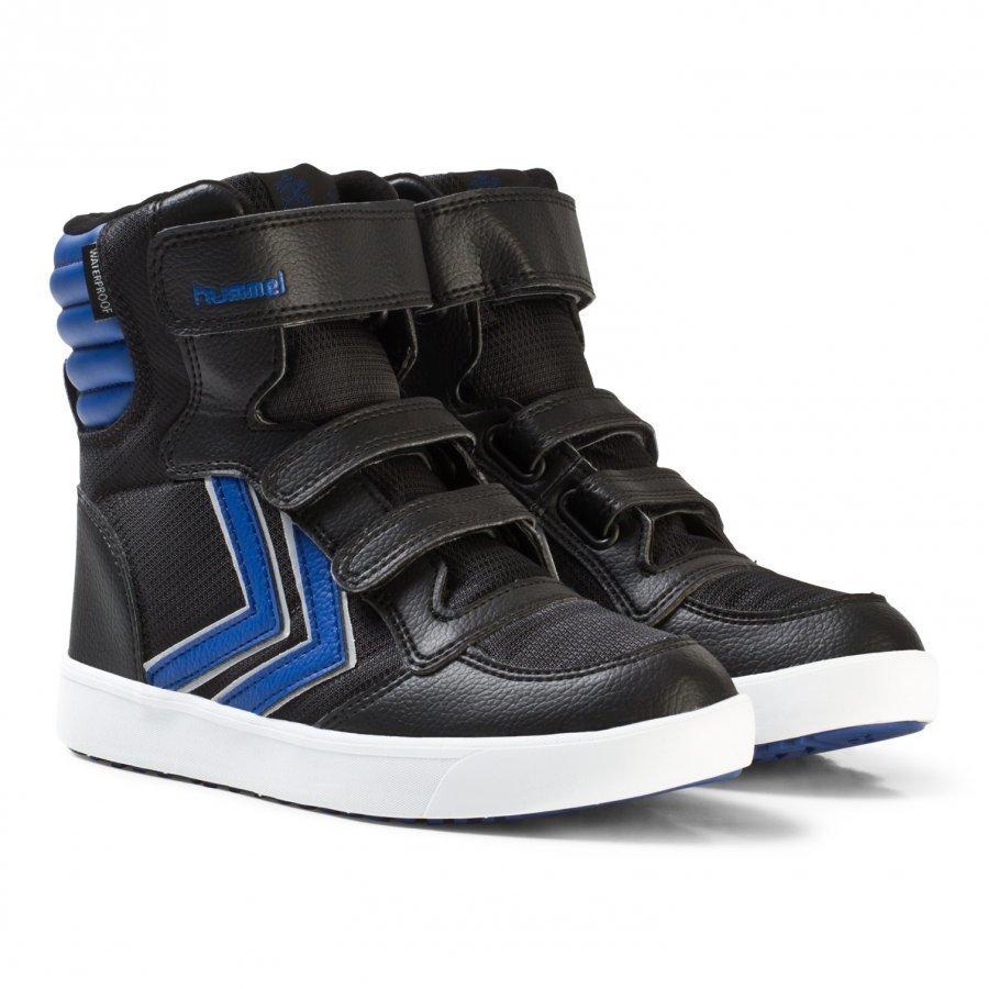 Hummel Stadil Super Poly Boot Jr Limoges Blue Korkeavartiset Kengät