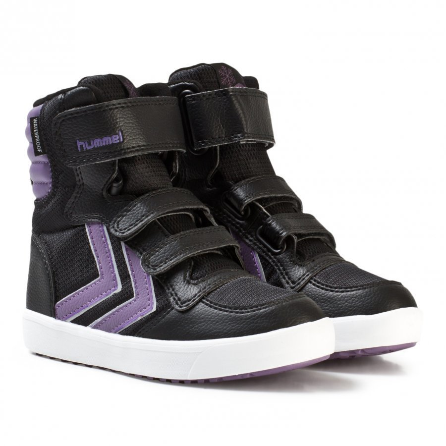 Hummel Stadil Super Poly Boot Jr Montana Grape Korkeavartiset Kengät