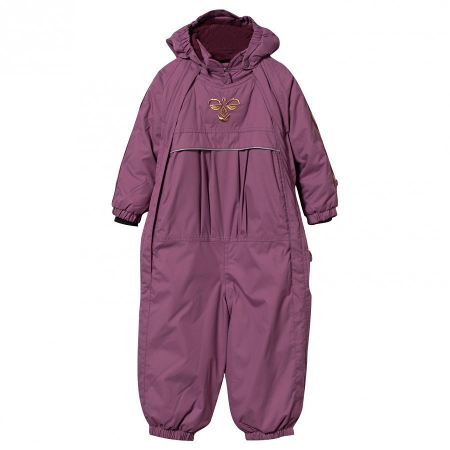 Hummel Star Snowsuit Argyle Purple Toppahaalari