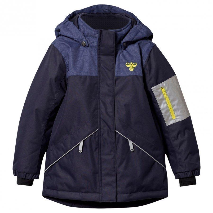 Hummel Stormy Ski Jacket Black Iris Toppatakki