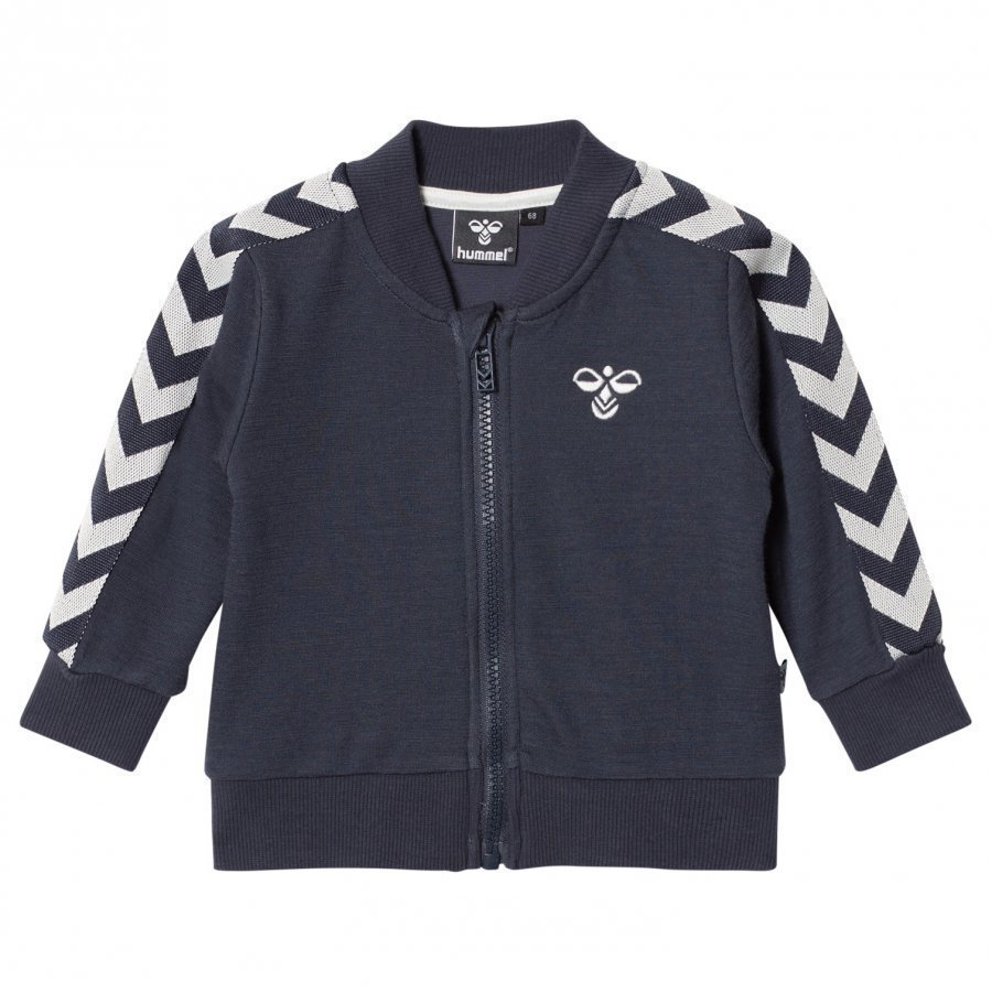 Hummelkids Istind Zip Jacket Aw17 Blue Nights Verryttelytakki