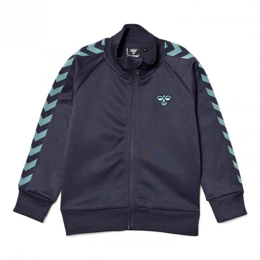 Hummelkids Lukas Zip Jacket Blue Nights Verryttelytakki