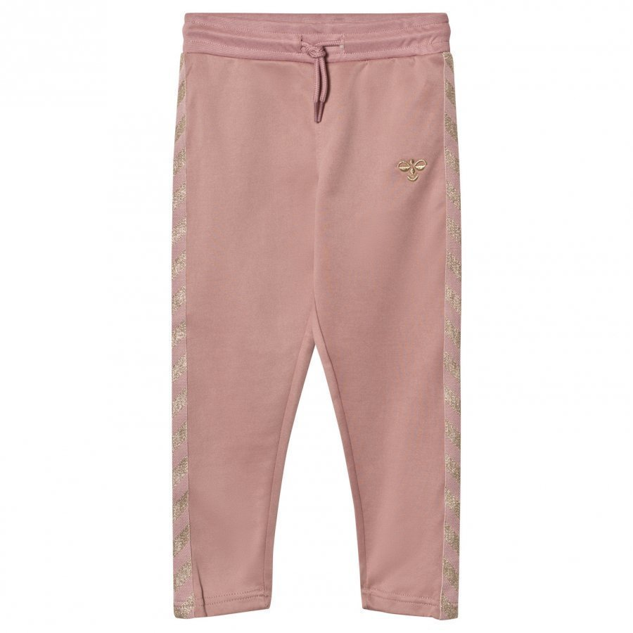 Hummelkids Olga Sweatpants Wood Rose Gold Verryttelyhousut