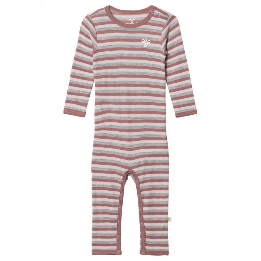 Hummelkids Sesse Ls Bodysuit Aw17 Multi Colour Girls Body