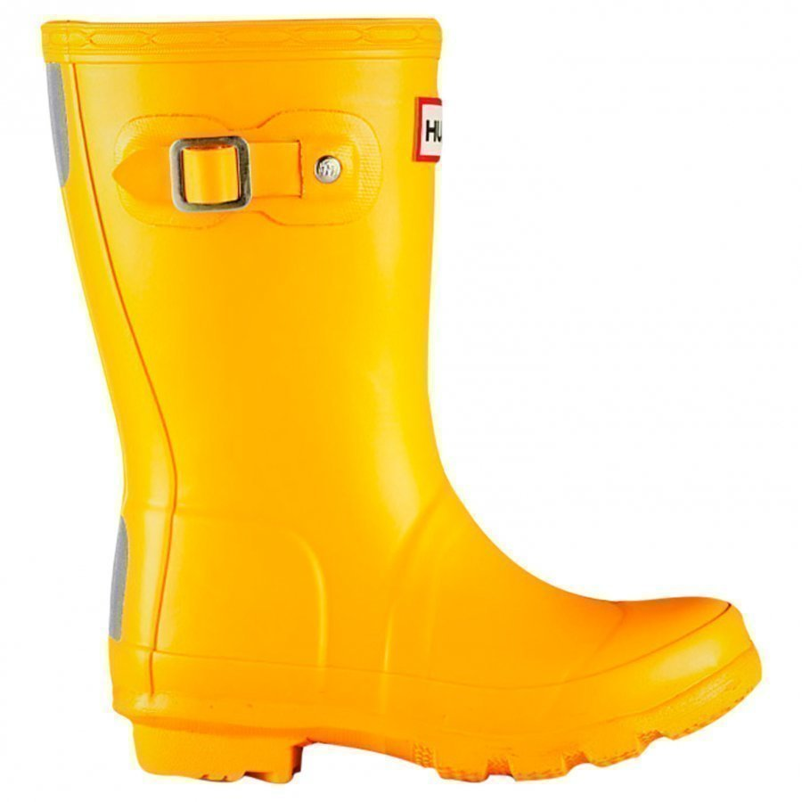 Hunter Original Kids Yellow Kumisaappaat