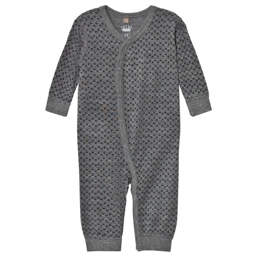Hust & Claire Acorn One-Piece Wool Grey Body