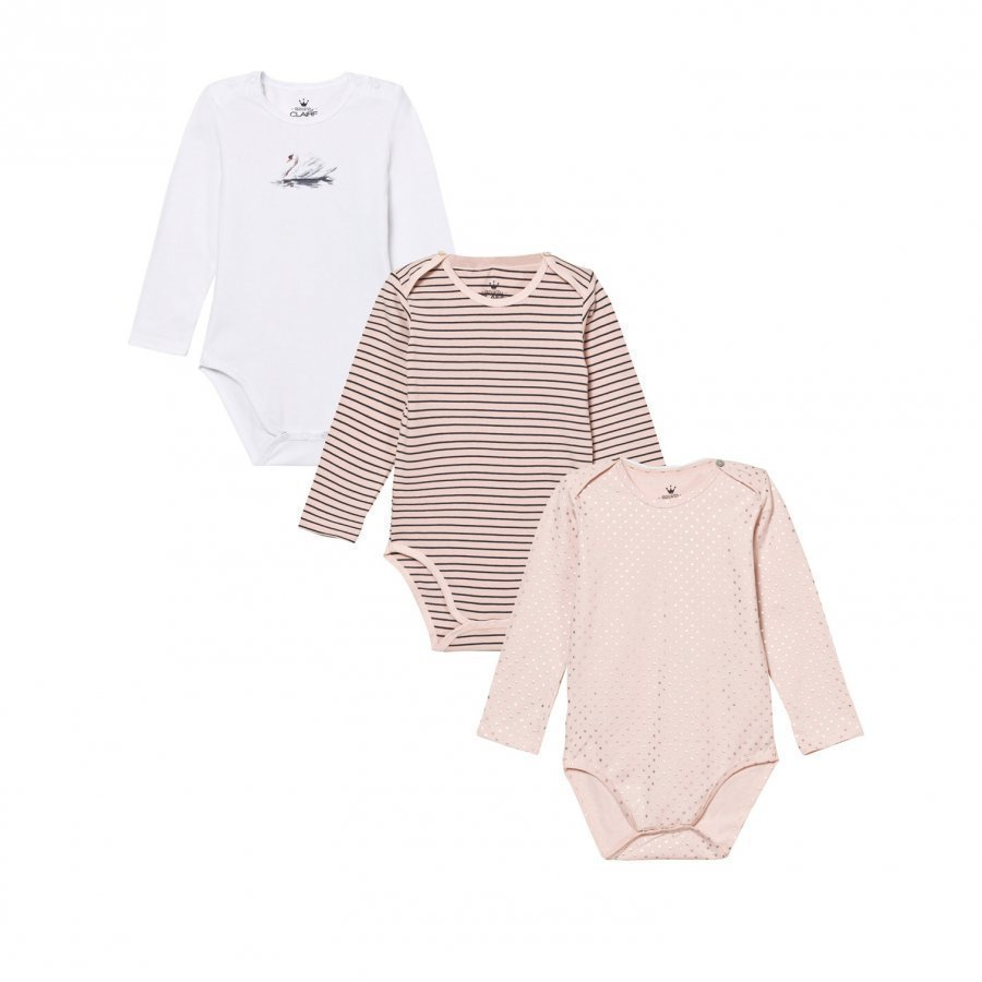 Hust & Claire Baby Body 3-Pack Peach Dust Body