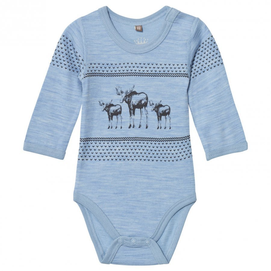 Hust & Claire Baby Body Blue Dawn Melange Body