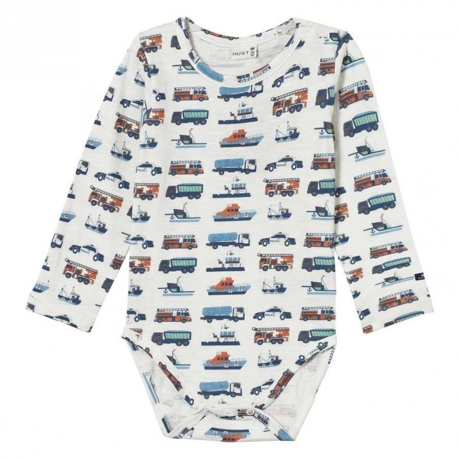 Hust & Claire Baby Body With Print Ivory Body