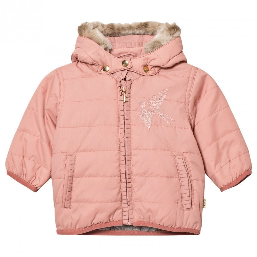 Hust & Claire Bird Jacket Rose Tan Toppatakki