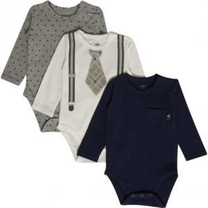 Hust & Claire Body 3-pack 1206 Light Grey