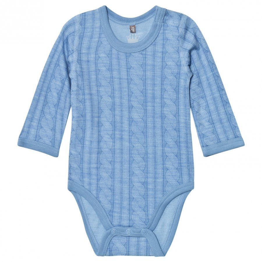 Hust & Claire Cable Baby Body Blue Dawn Body