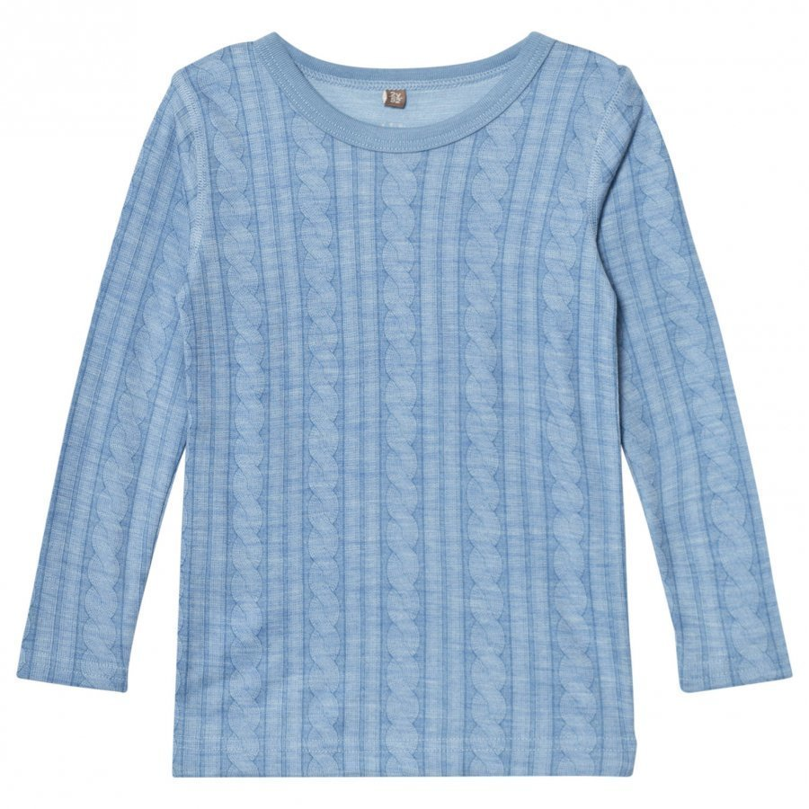 Hust & Claire Cable T-Shirt Blue Dawn T-Paita