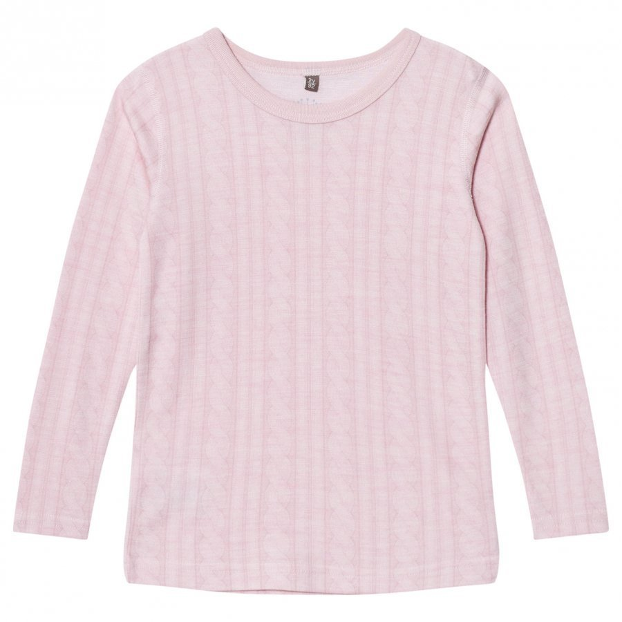 Hust & Claire Cable T-Shirt Rose T-Paita