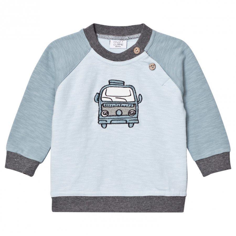 Hust & Claire Car Sweatshirt Petrol Oloasun Paita