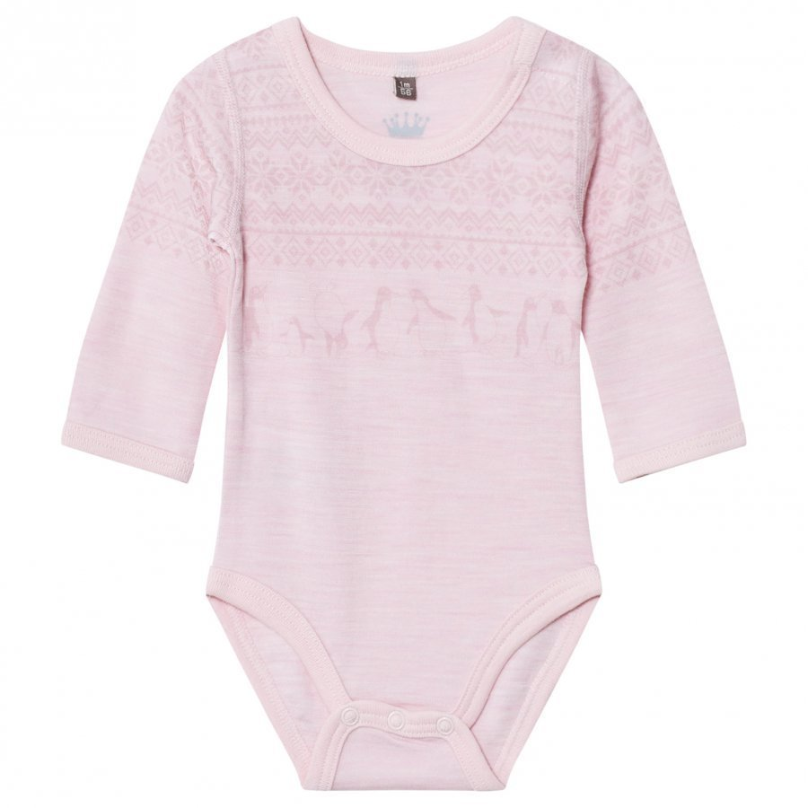 Hust & Claire Fairisle Baby Body Rose Body