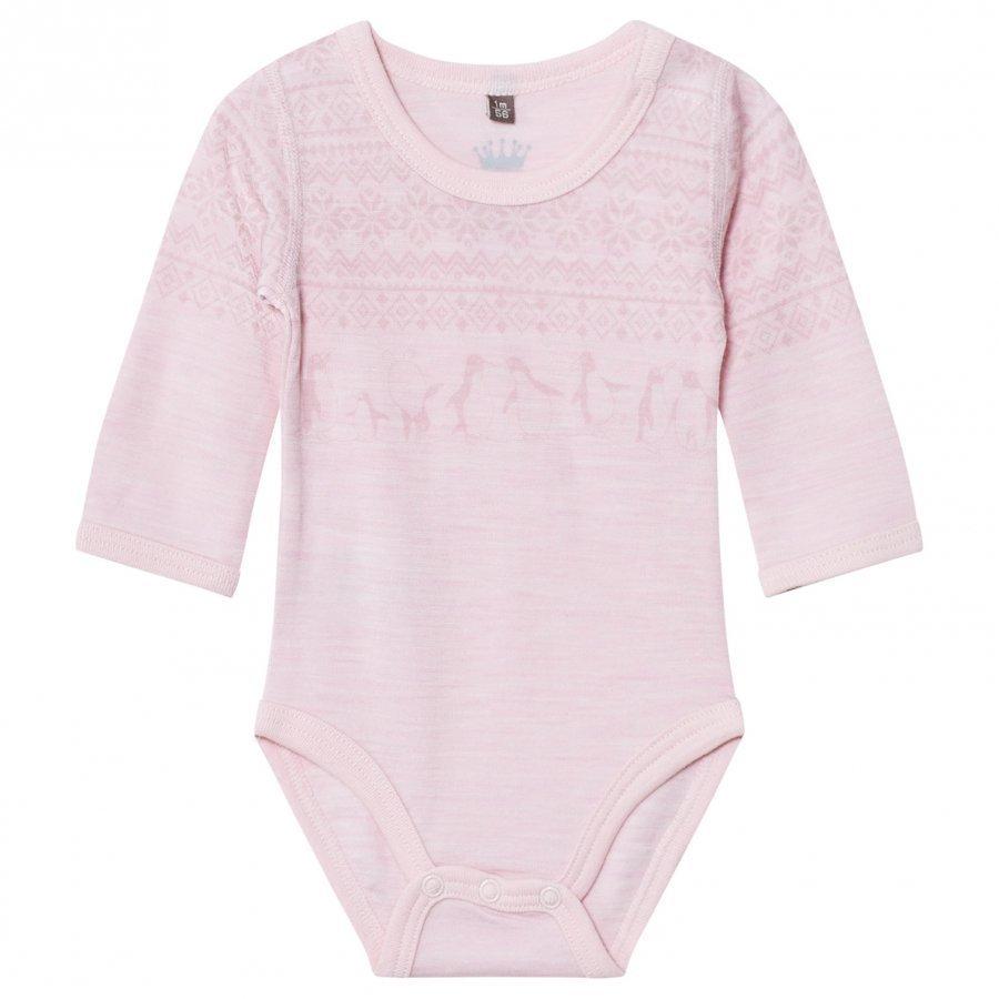 Hust & Claire Fairisle Baby Body Rose Body