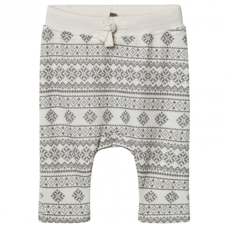 Hust & Claire Fairisle Sweatpants Off White Verryttelyhousut