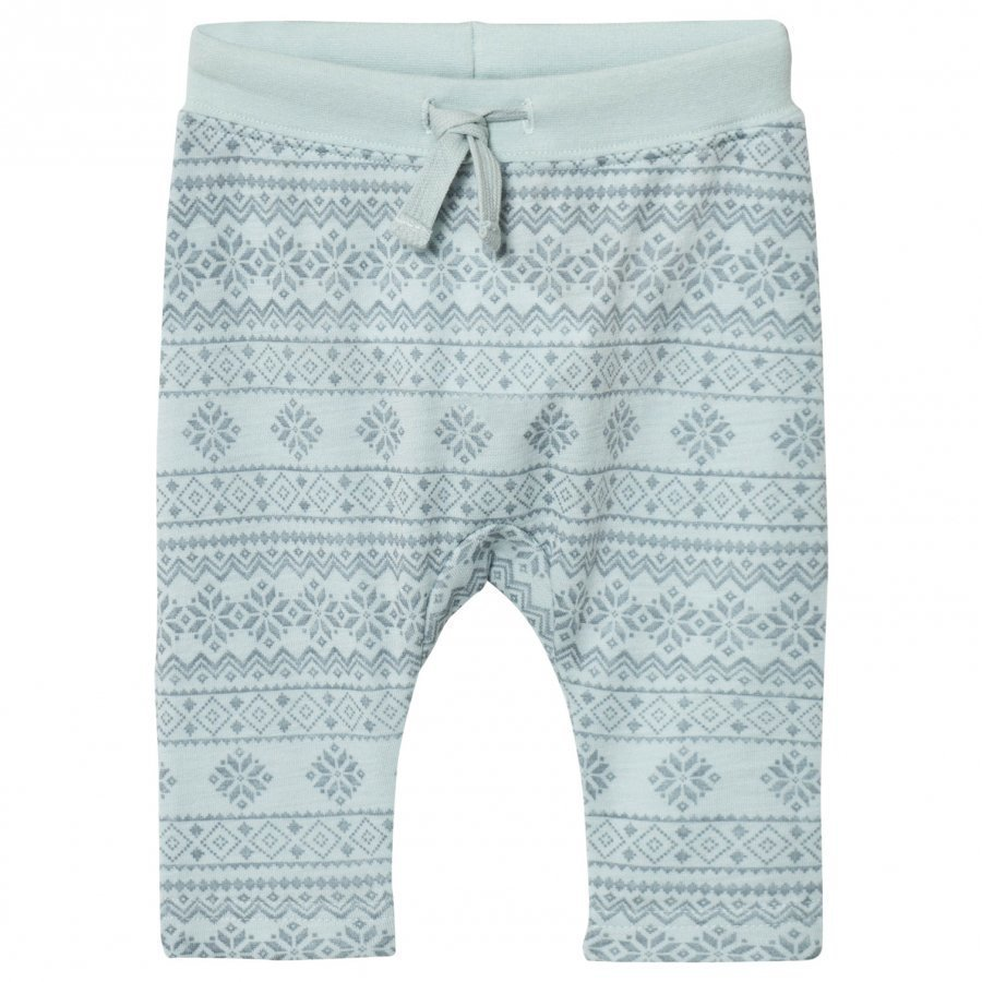 Hust & Claire Fairisle Sweatpants Winter Sky Verryttelyhousut