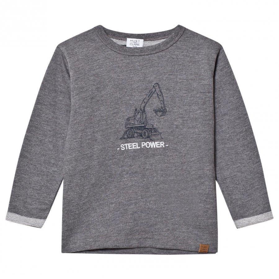 Hust & Claire Grey Sweatshirt Oloasun Paita