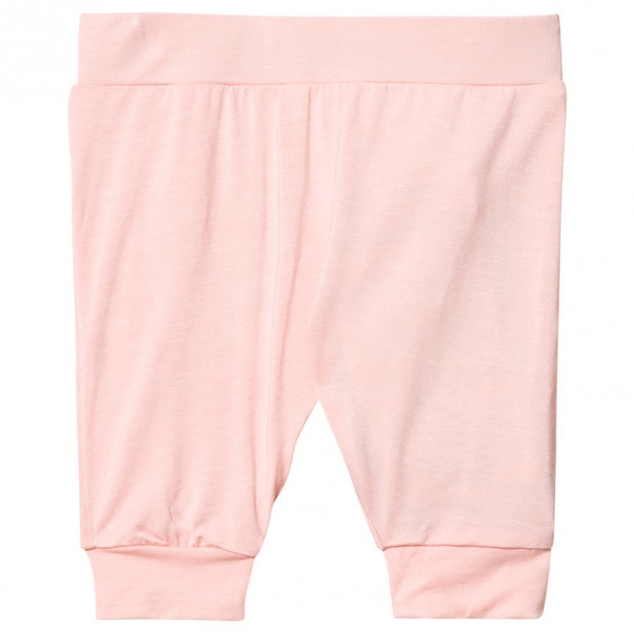 Hust & Claire Jogging Trousers Bamboo In Rose Tan Housut
