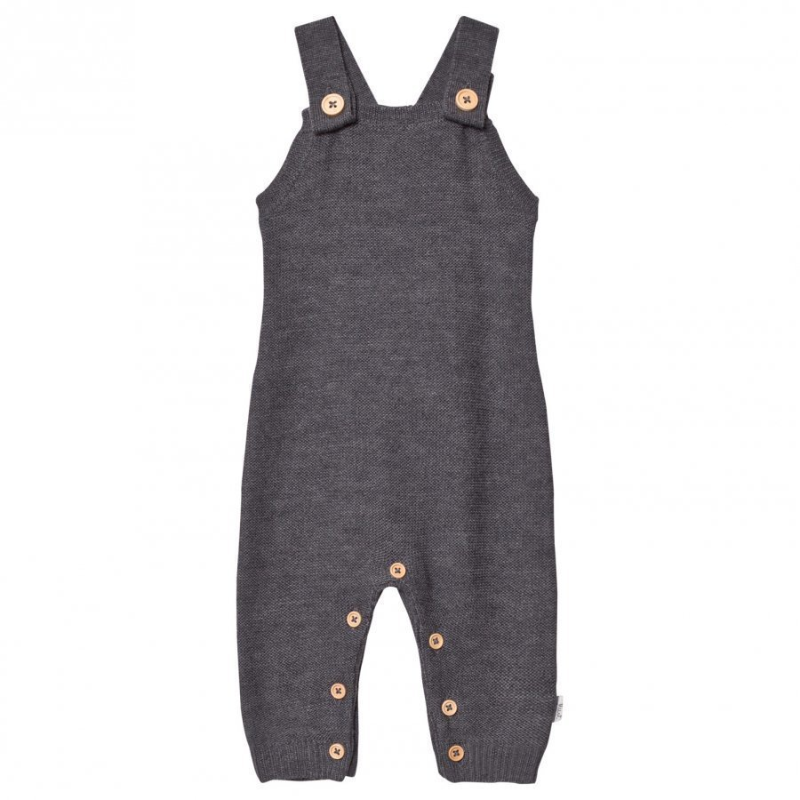 Hust & Claire Knit Overall Grey Lappuhaalari