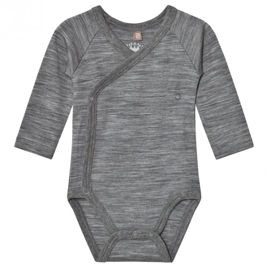 Hust & Claire Marled Wrap Body Wool Grey Body