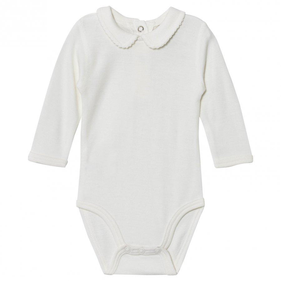 Hust & Claire Picot Baby Body Off White Body