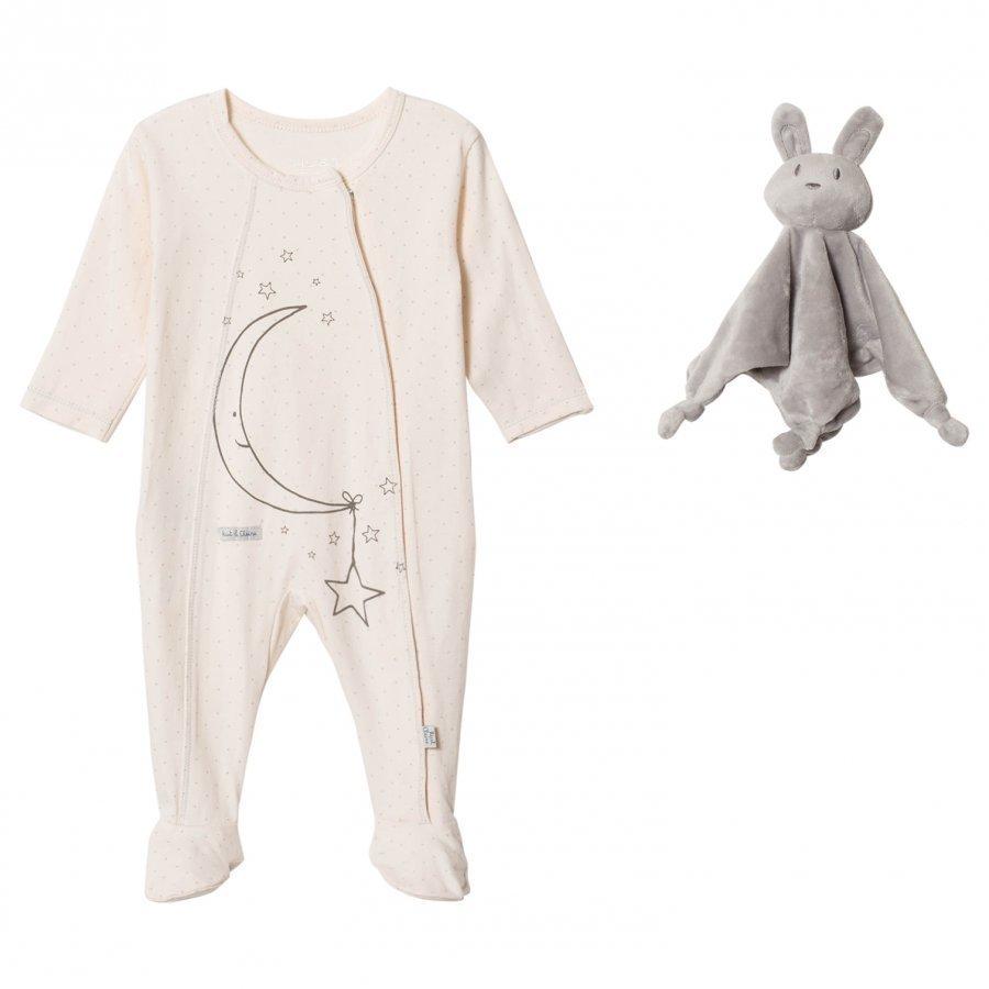 Hust & Claire Pyjamas Cream Yöpuku